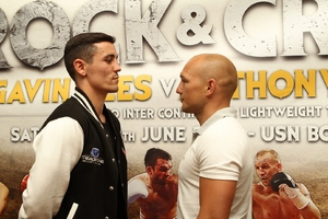 Crolla and Rees go head to head