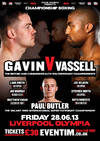 Gavin Outclasses Vassell In Battle of Unbeaten Fighters