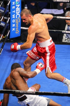 Kovalev says good bye to White