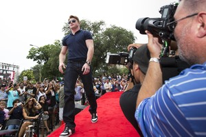 Canelo arrives in San Antonio