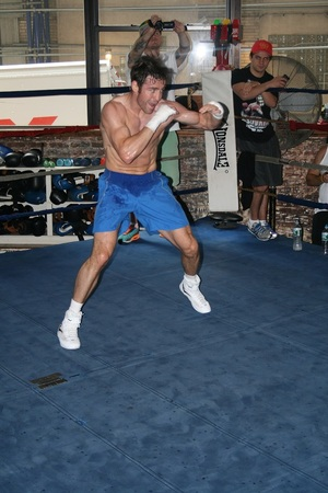 Macklin warms up