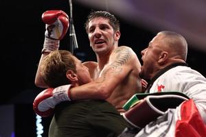 Molina celebrates win