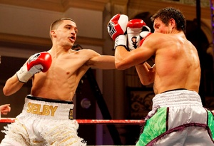 Lee Selby is going up, up, up.