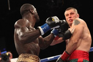 Wilder set up Liakhovich