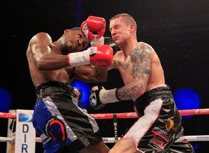 Burns Starts Long Road Back To World Title Shot