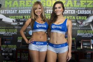 Corona Girls add some glamour