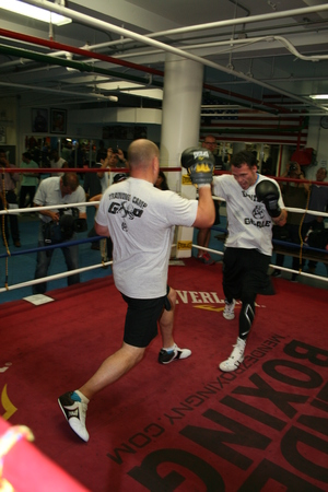 Geale  on the Pads(pic Alex Luces)