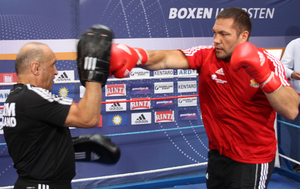 Pulev on the pads