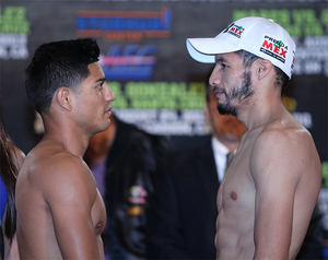 Mares Gonzalez WeighIn (Hogan photos)