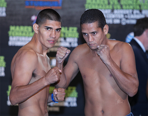 Orozco and Hernandez prepare for battle