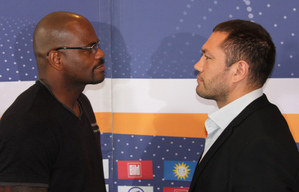 Pulev faces off with Thompson