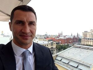 Wladimir looks relaxed in Moscow