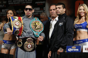 Garcia and Matthysse battle in Vegas