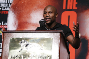 Video: Mayweather Jr talks About Maidana