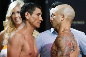 Marquez and Esquivias face off