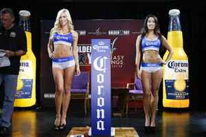 Corona Girls add a bit of glamour