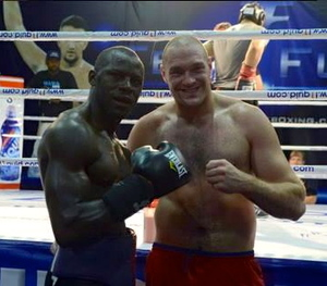 Cunningham and Fury take time out from sparring
