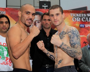 Burns And Beltran go head to head