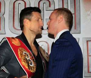 Froch And Groves face to face