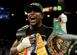 Floyd Mayweather, Jr. Discusses Maidana And His Future