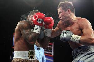 Golovkin goes to work on Stevins