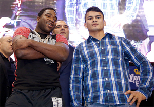 Broner and Maidana face off