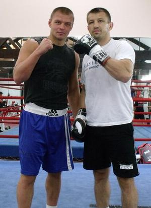Glazkov Works Out In New York