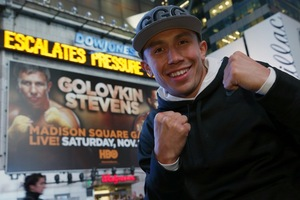 Golovkin hits New York (Will Hart/K2)