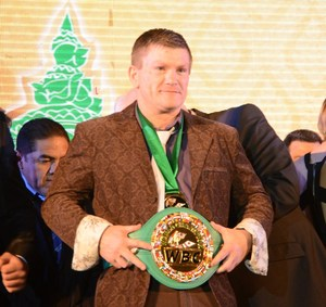 Hatton at the WBC Convention