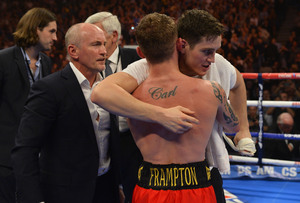 Frampton Makes First Title Defence