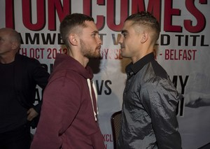 Frampton goes face to face with Parodi