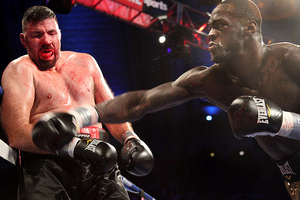 Video: Deontay Wilder Ko's Internet Troll