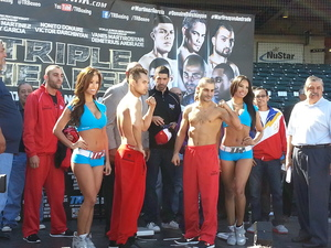 Donaire and Darchinyan weigh in