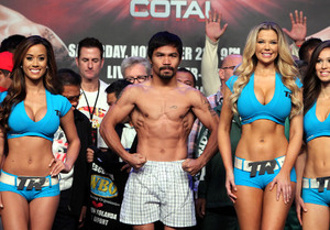 Pacquiao weighs in