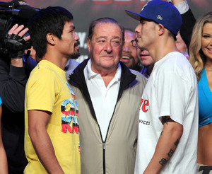 Pacquiao and Rios face off