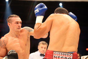 Usyk on the attack