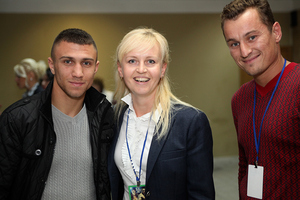 Lomachenko and-Female World Champ Alina Shaternikova-IMG