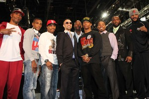 All TV fighters  line up