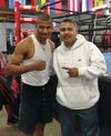 Garcia Oversees Dulorme's Training In Oxnard