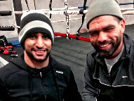 Khan & Angulo (Photo © Khan Promotions)