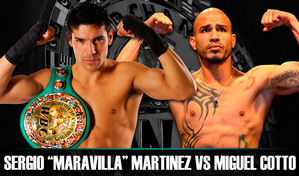 Martinez vs Cotto Undercard Announced