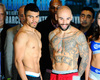 Ortiz vs. Collazo Official Weights