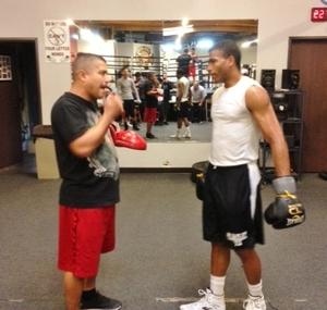 Dulorme and Garcia training