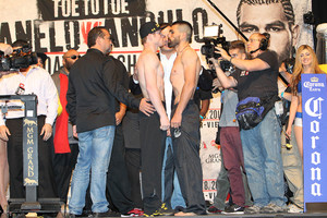 Weigh In Video and pics From Las Vegas