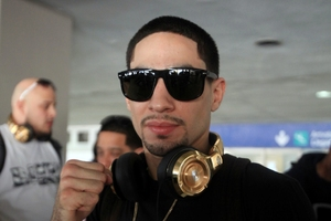 Garcia Arrives In Puerto Rico