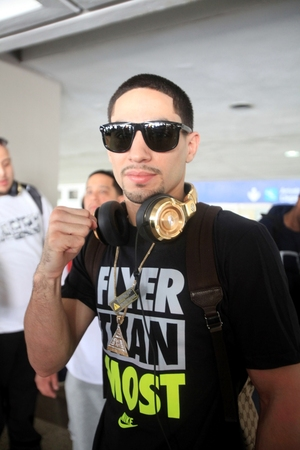 Garcia arrive to Puerto Rico