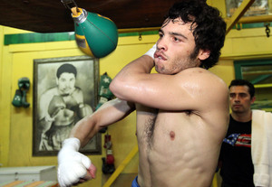 Chavez Jr works out for the media