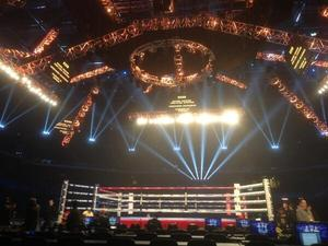Live Action From The Cotai Arena - Pacquiao-Algieri