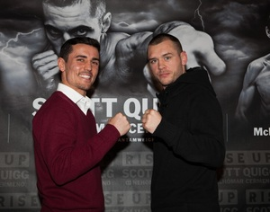Crolla and Murray face off