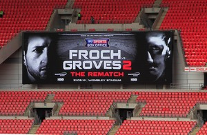Wembley Stadium To Host Froch Vs Groves Rematch